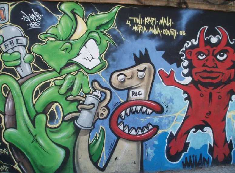 Graffiti From Barcelona