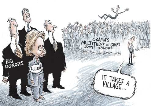 it takes a village, hillary