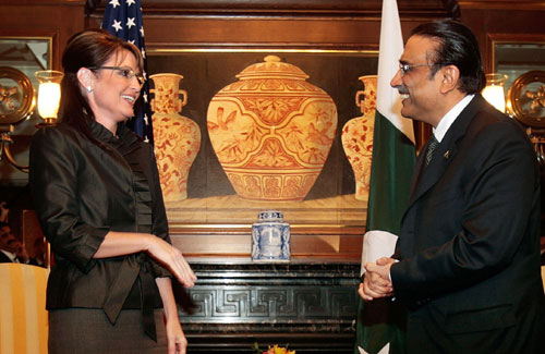 Fuck Me, President Zardari!