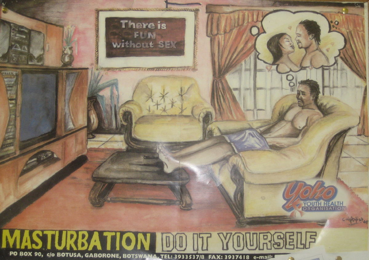 Anti-HIV/Safe Sex Advertisement From Botswana