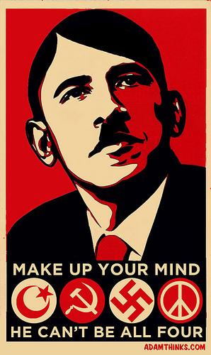 barack obama nazi communist socialist muslim