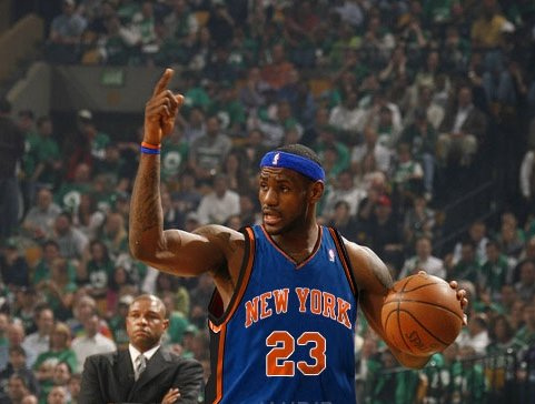 Lebron James Joins The New York Knicks