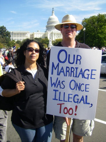 Our Marriage Was Once Illegal Too