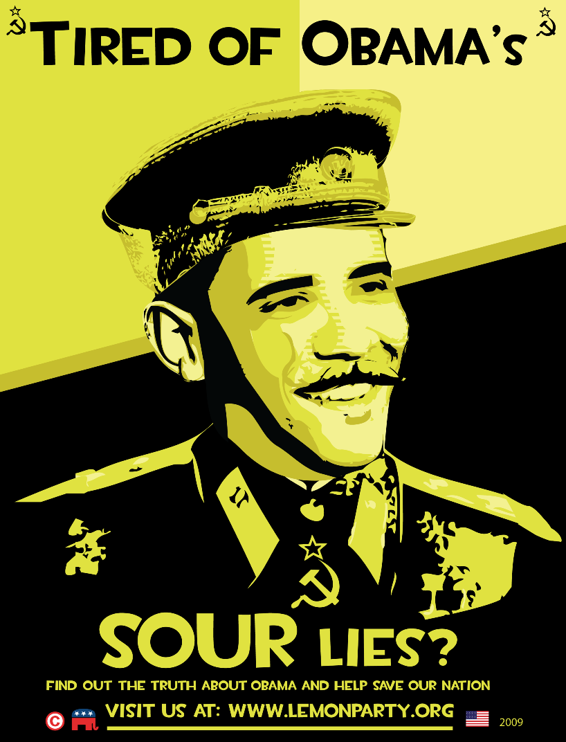 Tired Of Obamas Sour Lies? Join The Lemon Party