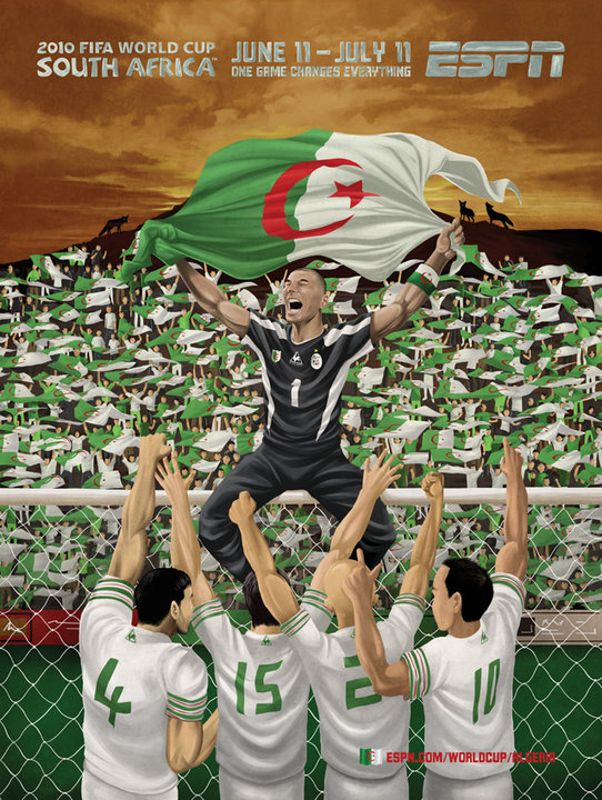 Algeria World Cup Celebration Ad