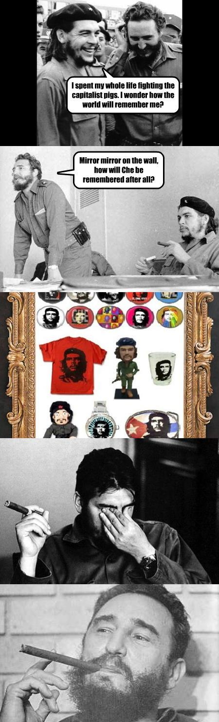 Che Guevara Talks About His Historical Legacy With Fidel Castr