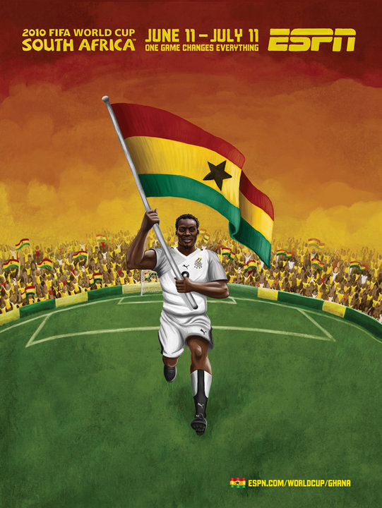 Ghana Football World Cup Mural