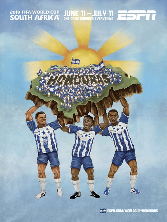 Honduras World Cup 2010