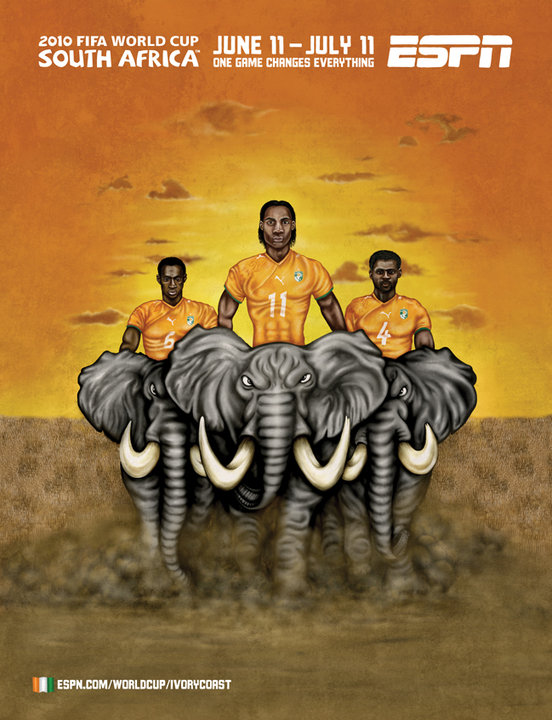 Ivory Coast Elephant Riders World Cup 2010