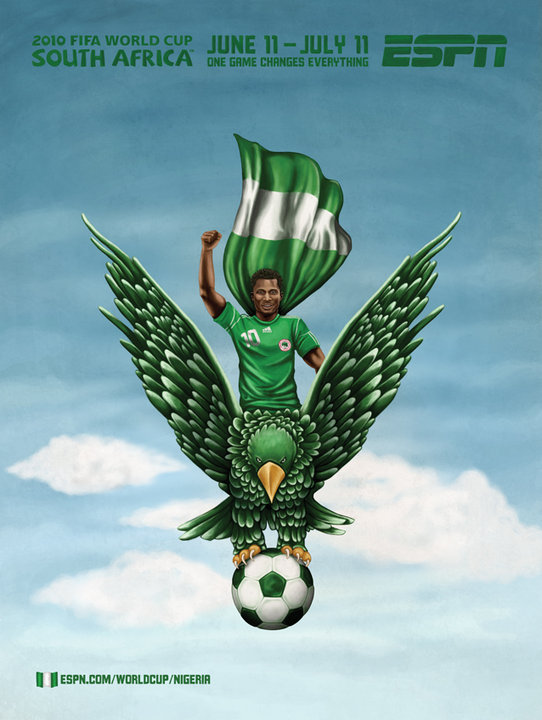 Nigeria World Cup Advertisement
