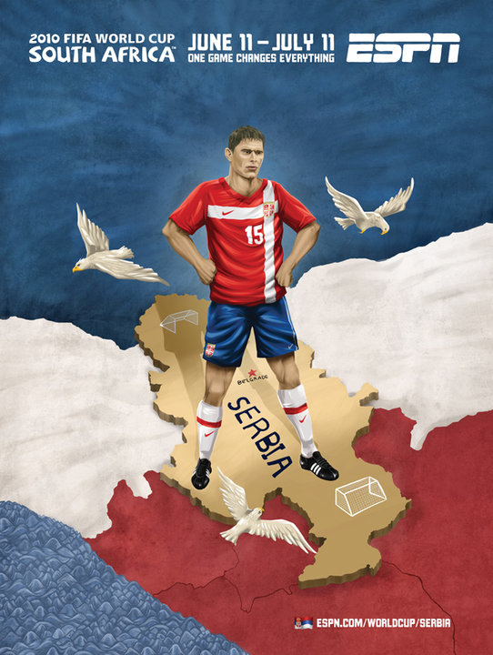 Serbia World Cup Ad 2010