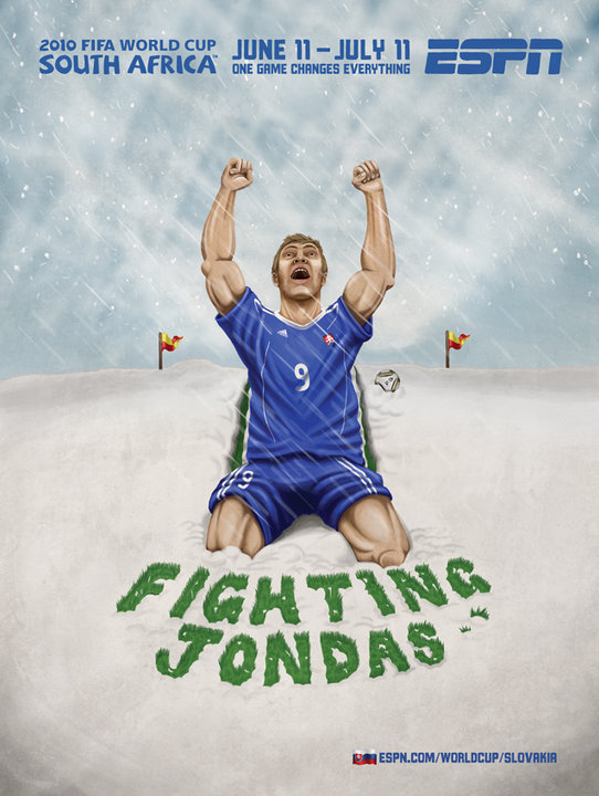 Slovaka World Cup Fighting Jondas