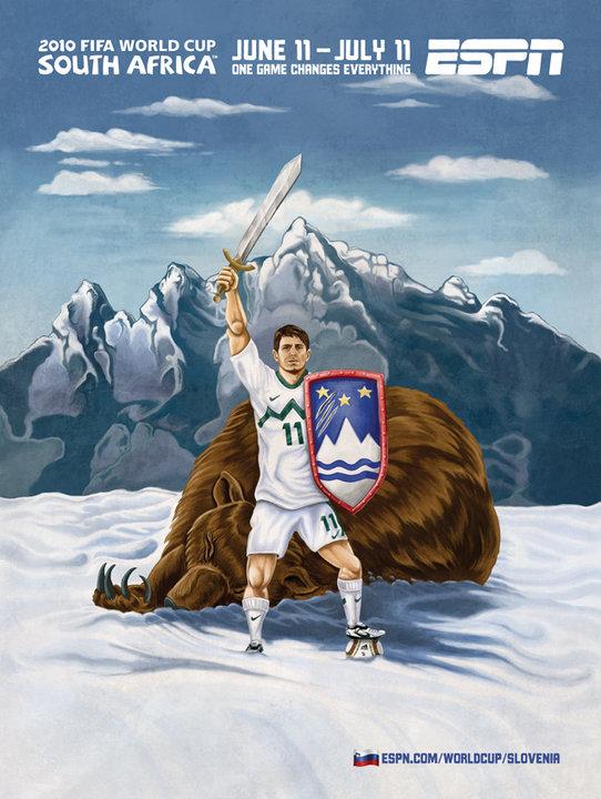 Slovenia 2010 World Cup Ad