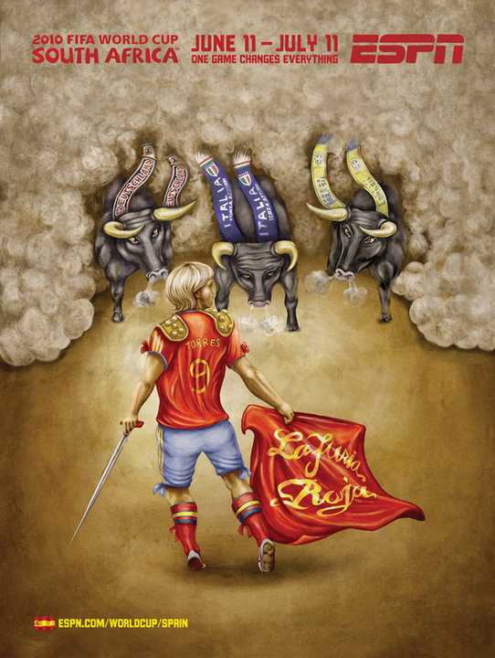 Spain 2010 World Cup Advertisement