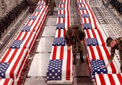 Iraq War Coffins