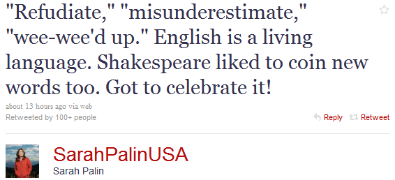Sarah Palin Me Fail English