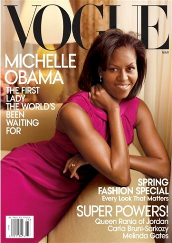 Michelle Obama on Vogue Cover Picture