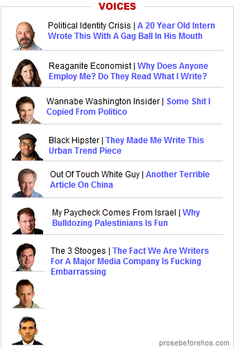 If The Atlantic Were Honest About Its Bloggers