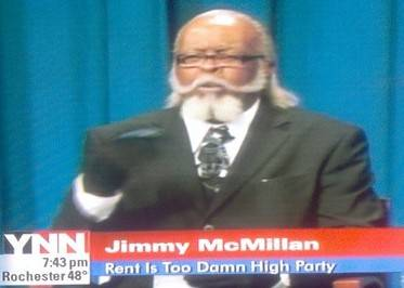 Jimmy McMillian - Rent Is Too High Gubernatorial Candidate