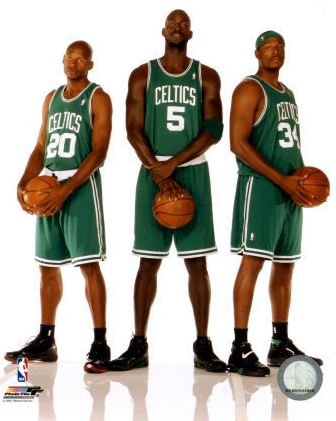 The Boston Celctics Big Three
