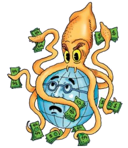 Goldman Sachs - The Giant Vampire Squid