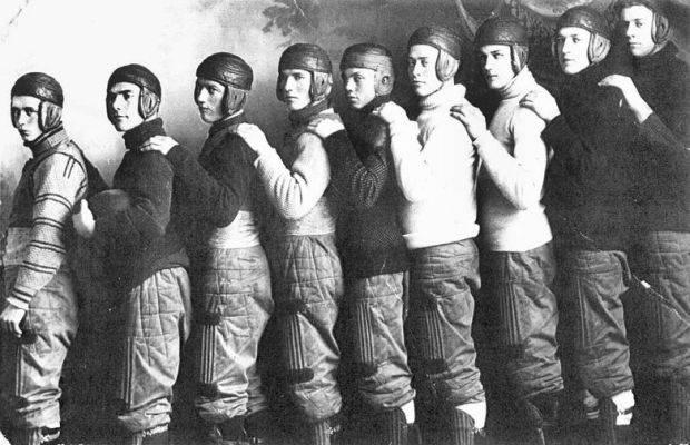 Vintage Pro Football Team Photo
