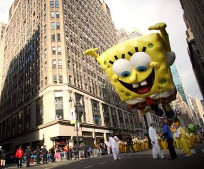 SpongeBob SquarePants at Macys Parade