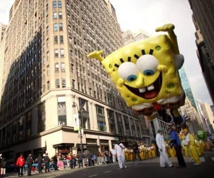 SpongeBob SquarePants at Macys Parade