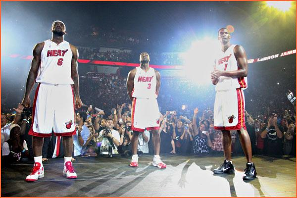 Miami's Big Three