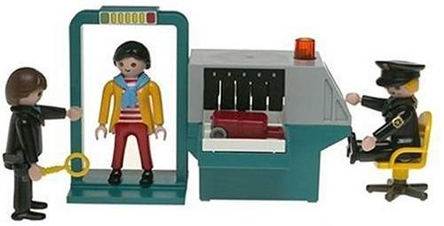 Playmobil TSA Security Check Point Set