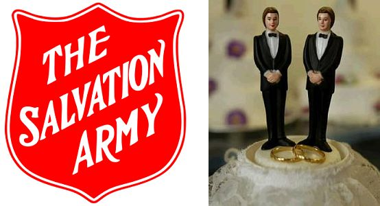 Salvation Army and Gay Rights Equality