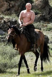 Vlad Putin On A Horse