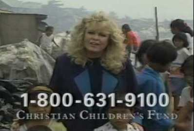 Sally Struthers in Africa for ChildFund