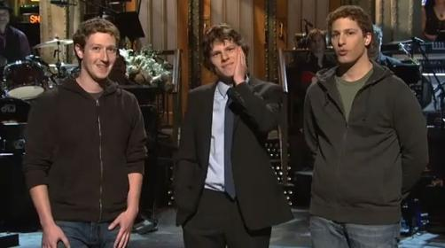 Being Mark Zuckerberg on Saturday Night Live