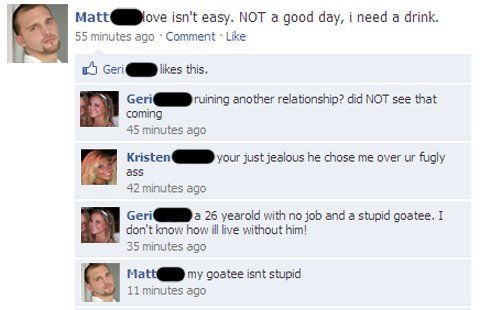 Awkward Facebook Conversation