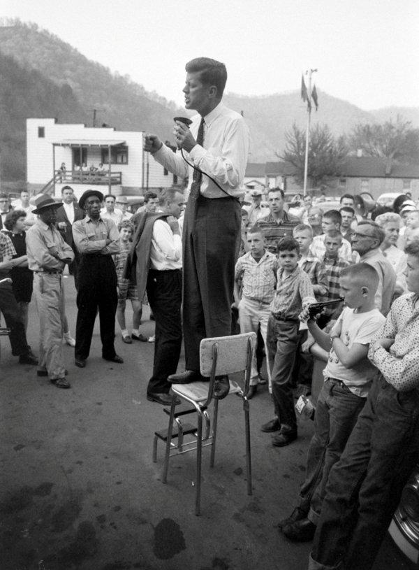 JFK Stumps For President In West Virginia