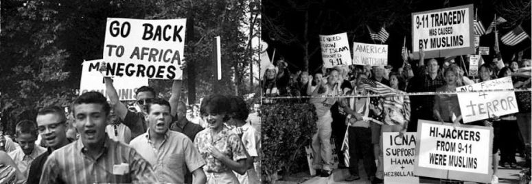 America in 1951 vs America in 2011 History Picture