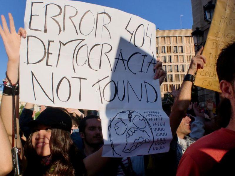 Revolution in Spain 2011