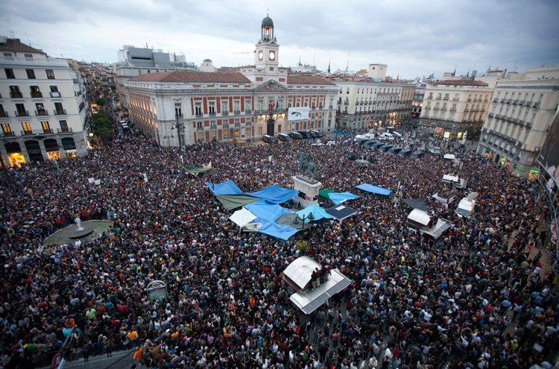 Revolution In Spain 2011 Photograph