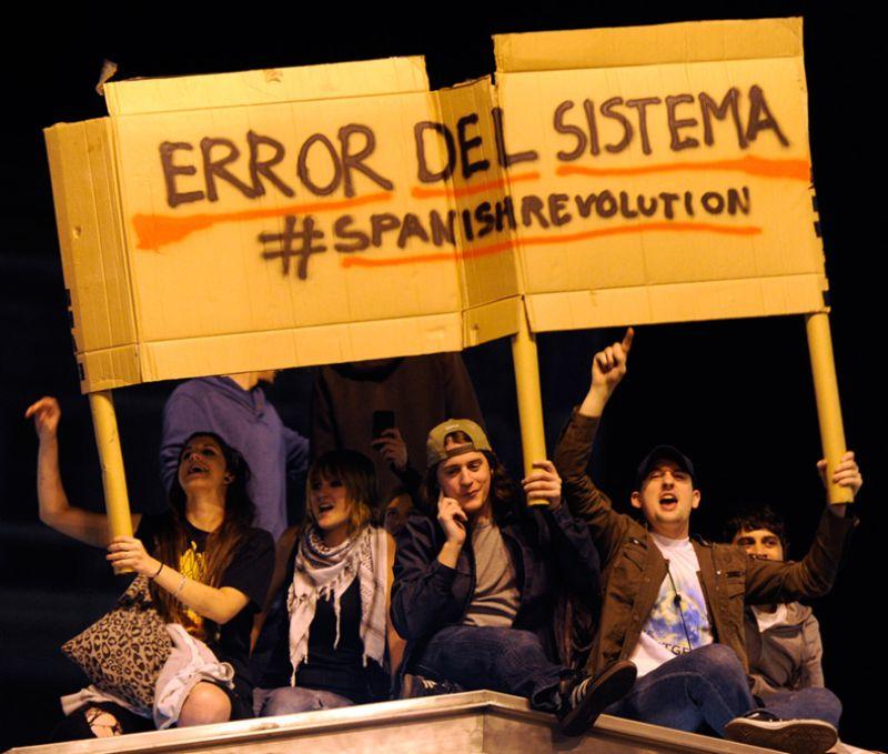 Photograph of Spain Revolt