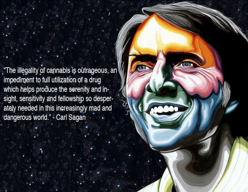 Carl Sagan On Marijuana Prohibition