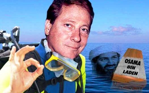 Bill Warren Diving for Osama Bin Laden