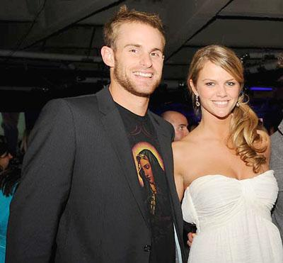 Andy Roddick with Brooklyn Decker Photograph