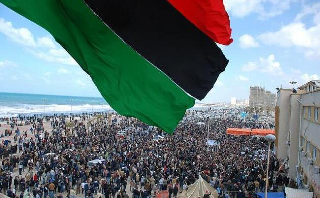 Revolution in Libya Photograph