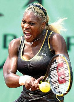 Serena williams looks like a man