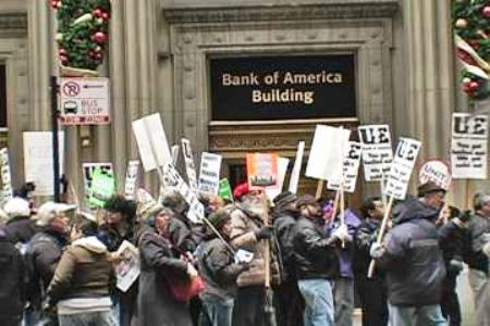 Bank of America Protests