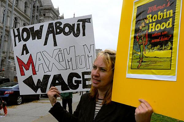 Occupy Wall Street Maximum Wage