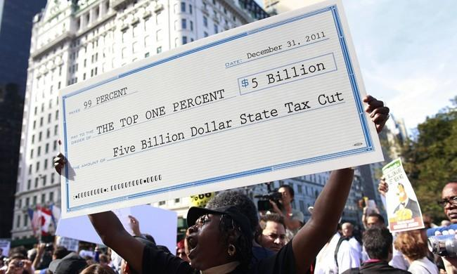 Occupy Wall Street Tax Cuts