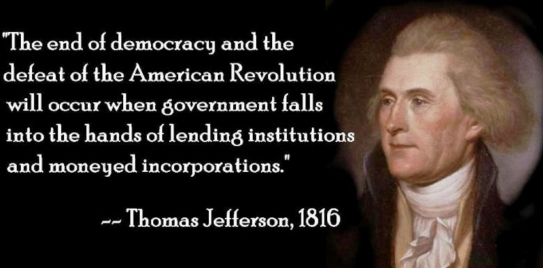 Thomas Jefferson Quote On The End Of American Democracy
