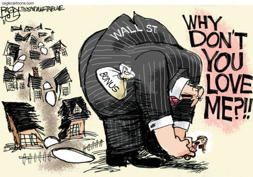 Why Don't You Love Wall Street Political Comic